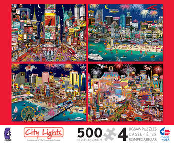 City Lights 4 in 1 Multi-Pack picture