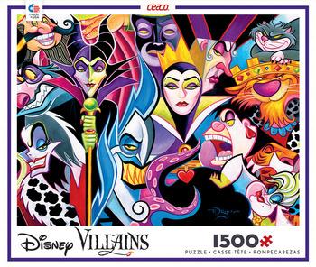 Disney 1500 Piece Puzzle- Villians picture