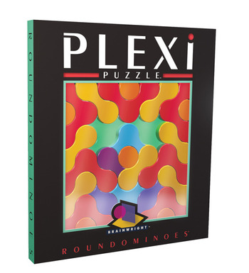 Plexi Puzzle - Round Dominoes picture