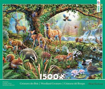 1500 Piece - Woodland Creatures picture