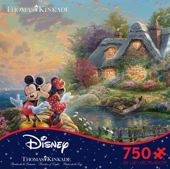 Thomas Kinkade Disney - Mickey and Minnie picture