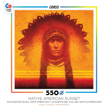 Native American Sunset - New Leader picture