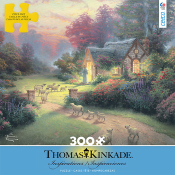 Thomas Kinkade Inspirations - The Good Shepherd's Cottage picture
