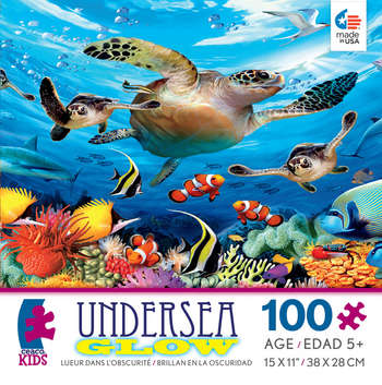 Undersea Glow - Journey of the Sea Turtles picture