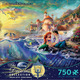 Thomas Kinkade Disney Dreams - The Little Mermaid