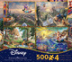 4 in 1 Multi-Pack - Thomas Kinkade - Disney Dreams