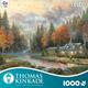Thomas Kinkade 1000 Piece - Evening at Autumn Lake