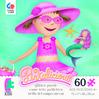 Pinkalicious Glitter Puzzle - Aqualicious 1