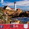 Around the World USA - Portland Headlight, Maine, New England