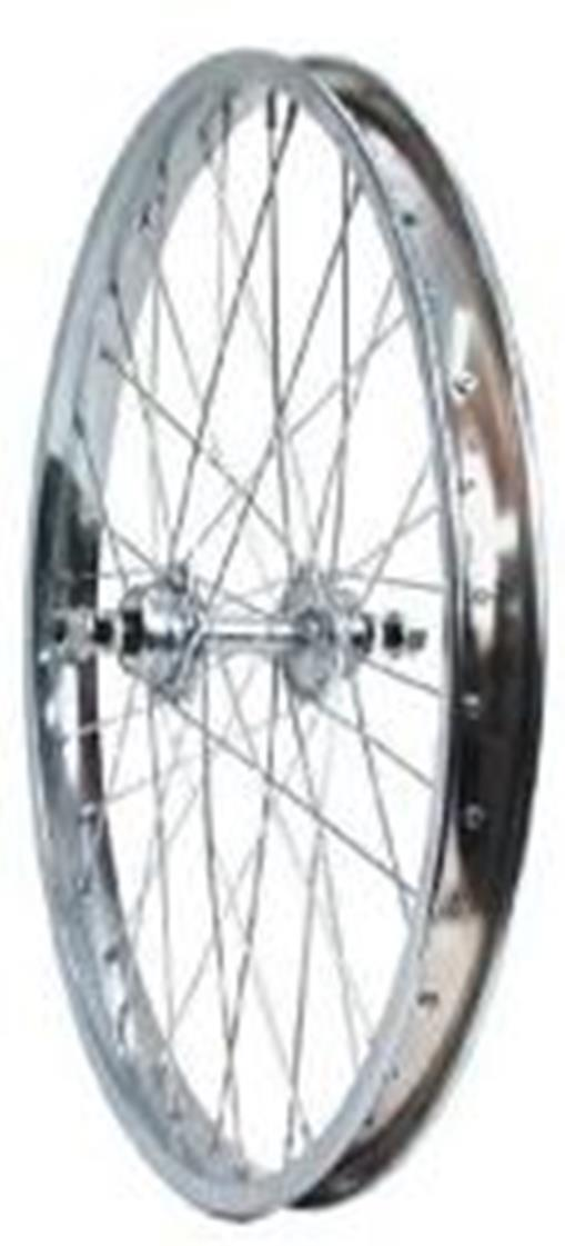 Sta-Tru Steel Clincher Rear Wheel 20 x 1.75
