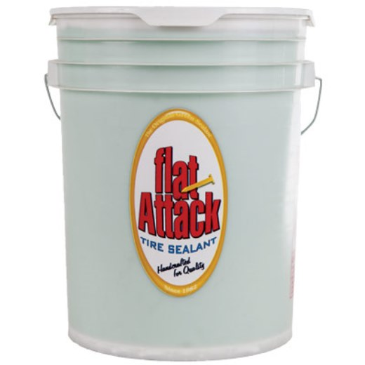 Flat Attack Puncture Sealant 5 Gallon Can