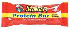 Honey Stinger 10g Protein Bar Choc Cherry Almond 15 Bar Box