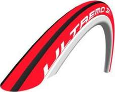 Schwalbe Ultremo ZX Clincher Tire Folding Bead, 700C x 23 Red