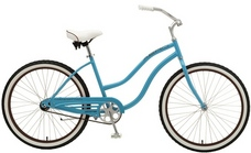 2013 Manhattan Aero Ladies Cruiser Bike Blue