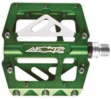 Azonic/O'Neal 420 Pedal Set Green Anodized