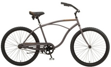 2013 Manhattan Aero Cruiser Bike Gray