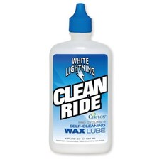 White Lightning Clean Ride Lubricant 4 oz Bottle