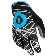 SixSixOne REV Wired Glove Black/Cyan M (9)