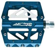 Azonic/O'Neal 420 Pedal Set Blue Anodized