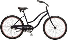 2013 Manhattan Aero Ladies Cruiser Bike Black