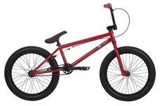 2014 Kink Curb BMX Bike Matte Red