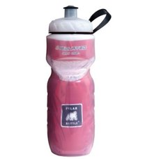 Polar Bottle 20oz. Water Bottle Clear w/ Red Foil