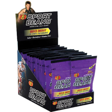 Jelly Belly Sport Beans Nutrition Supplement Berry 2 box/case