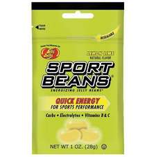 Jelly Belly Sport Beans Nutrition Supplement Lemon Lime 24 per box