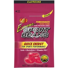 Jelly Belly Extreme Sports Beans Pomegranate 24 Bags/Box