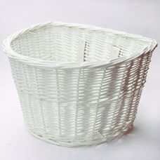 Manhattan American Handlebar Basket White Medium