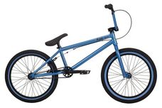2014 Kink Launch BMX Bike Matte Cyan Blue