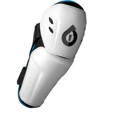 SixSixOne Comp Elbow Guards, White (Large)