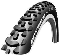 Schwalbe CX Pro Cross Clincher Tire Folding Bead, 700C x 30 Black