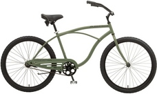 2013 Manhattan Aero Cruiser Bike Army Green