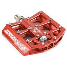 Straitline SC Pedal Set Red