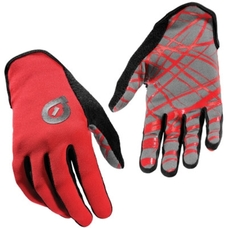 SixSixOne REV Wired Glove Black/Red M (9)