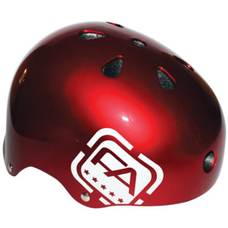 Free Agent Jumping/Street Helmet Gloss Candy Apple Red