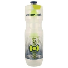 Hydrapak Gel-Bot 24oz. Water Bottle - Clear/Blue