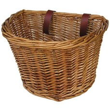 Manhattan American Handlebar Basket Natural Medium