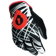 SixSixOne REV Wired Glove Black/Red XS (7)