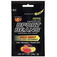 Jelly Belly Sport Beans Nutrition Supplement Assorted 2 box/case