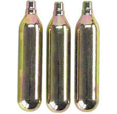 Genuine Innovations CO2 Cartridge 12g Non-Threaded 3 Pack