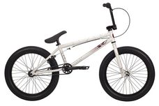 2014 Kink Curb BMX Bike Gloss White w/ Red Splatter