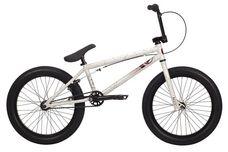 2014 Kink Curb BMX Bike Gloss White w/ Red Splatter