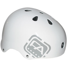 Free Agent Jumping/Street Helmet Gloss White