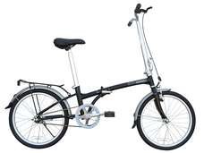 2012 Dahon Boardwalk S-1 Folding Bike Black