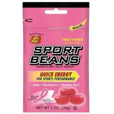 Jelly Belly Sport Beans Nutrition Supplement Fruit Punch 24 per box