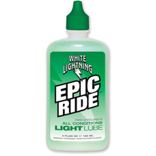White Lightning Epic Ride Lubricant 4 oz Bottle