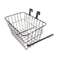 Wald 135 Grocery Handlebar Basket Black