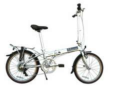 2012 Dahon Mariner D7 Folding Bike Brushed